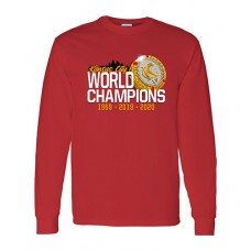 TAMPA-Bound Long-Sleeved T-shirt (Red)