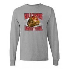 """CHIEFS SuperBowl Champs """"RING"""" Long-Sleeved T-shirt (sport grey)"""